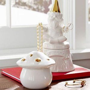 Pottery Barn Teen Ceramic Gnome Whimsy Forest